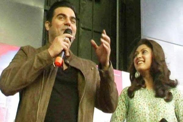 actor Arbaaz Khan in Kanpur for Movie promotion  jeena isi ka naam hai - Kanpur News in Hindi