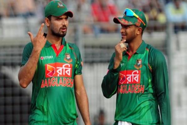 Shakib Al Hasan targets on Mashrafe Mortaza - Cricket News in Hindi