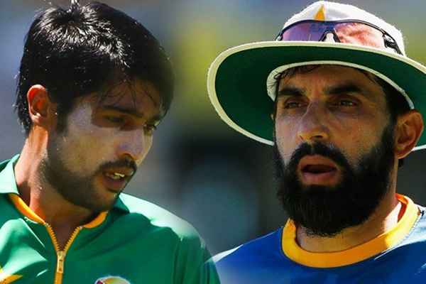 World Cup 2019 : Misbah Ul Haq not impressed with Mohammad Amir bowling - Cricket News in Hindi