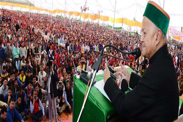 The unprecedented growth in the last four years in the state: Virbhadra Singh - Mandi News in Hindi