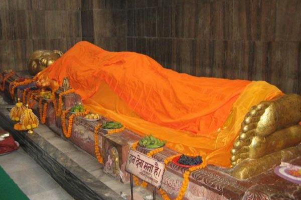 Kushinagar: Industry will not Established in 20 km radius from the statue of Lord Buddha - Kaushambi News in Hindi