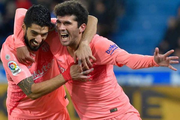 Barcelona beat Alaves in la liga - Football News in Hindi