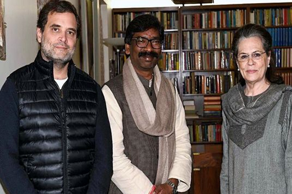 Jharkhand cabinet expansion : CM Hemant Soren and many congress mla are in delhi - Ranchi News in Hindi