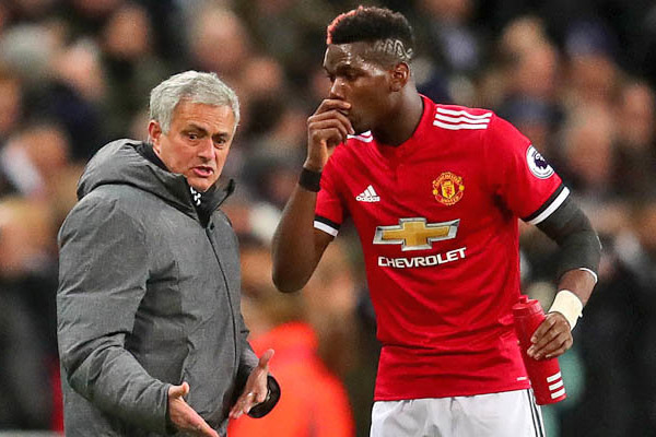 Manchester United midfielder Paul Pogba appreciates former coach Jose Mourinho - Football News in Hindi
