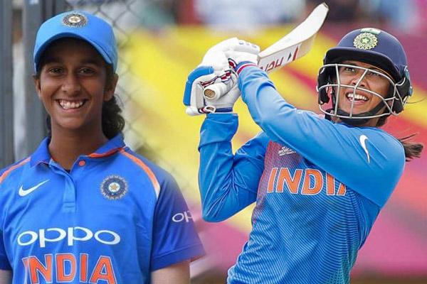 ICC T20 Batting Ranking : Big jump for Jemimah Rodrigues and Smriti Mandhana - Cricket News in Hindi