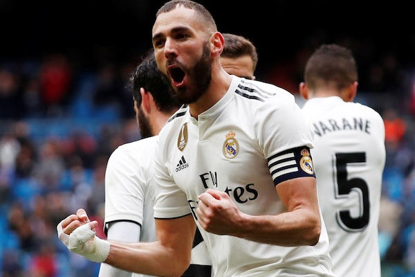 Bundesliga : Real Madrid beat Eibar by 2-1, Karim Benzema scored 2 goals - Football News in Hindi