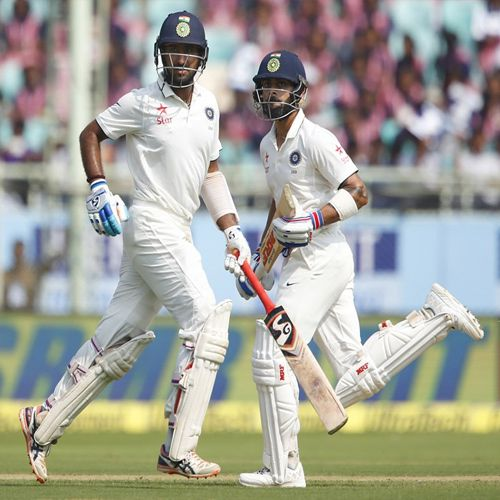 Second Test  first day game between India vs England - Cricket News in Hindi