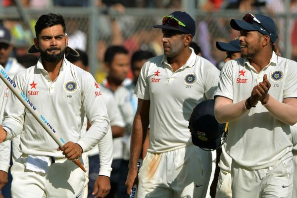 india won mumbai test match - Cricket News in Hindi