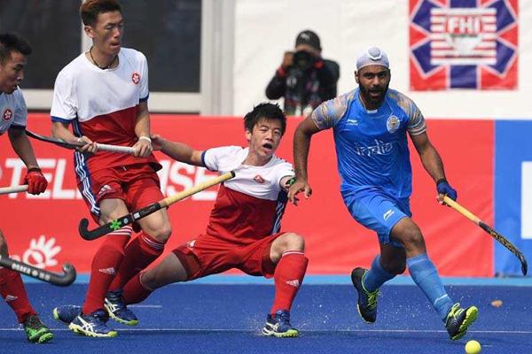 Asian Games 2018 : Indian men hockey team beat Hong Kong by 26-0 - Sports News in Hindi