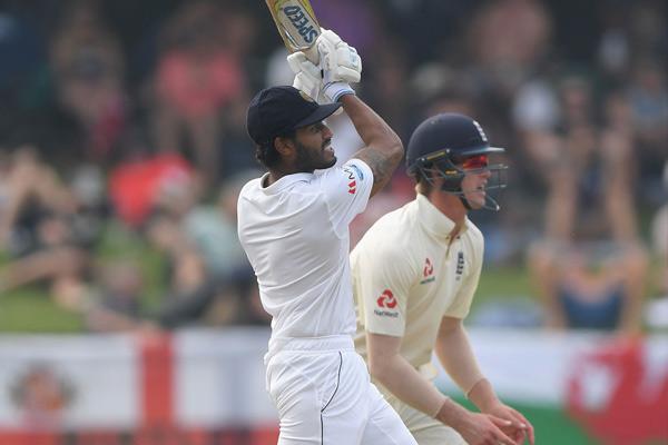 Second Test : Sri Lanka take 46 runs lead against England - Cricket News in Hindi