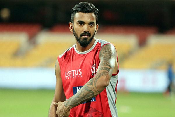 पंजाब के लोकेश राहुल ने इसके बावजूद लिया बल्लेबाजी का मजा