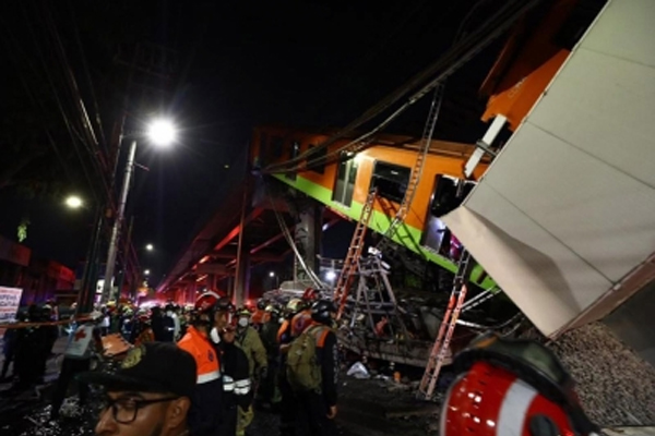 23 people died in Mexico City due to the collapse of the underground rail bridge - World News in Hindi