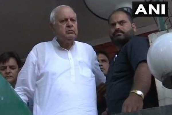 Article 370 : Farooq Abdullah says, I Was Detained At Home, Home Minister Lying - Delhi News in Hindi