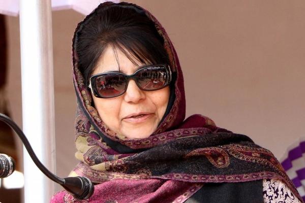Centre cites former cm Mehooba Mufti inflammatory speech in supreme court - Delhi News in Hindi