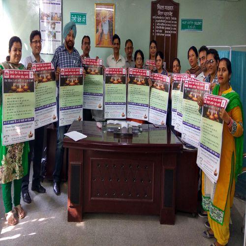 Safe Diwali Diwali without crackers - Pathankot News in Hindi