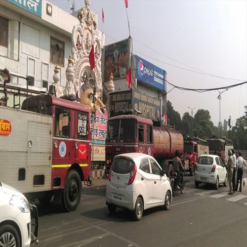 A fire in the basement of the hospital created a stir - Ludhiana News in Hindi