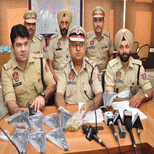 The arrested gangsters foreign arms suppliers - Bathinda News in Hindi
