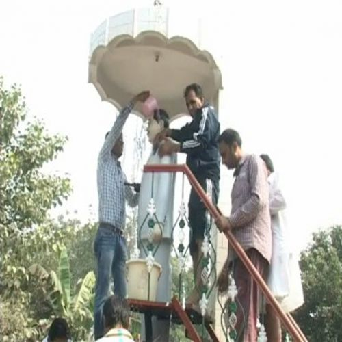 Diwali martyr monuments Cleanliness - Sirsa News in Hindi