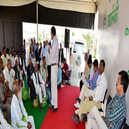 Udh Minister communicate with farmers - Jaipur News in Hindi