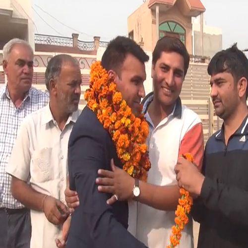Australia kabaddi team players welcome - Kaithal News in Hindi