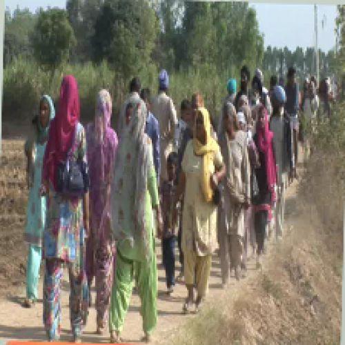 Unrighteous king is killed at Fort footwear - Yamunanagar News in Hindi