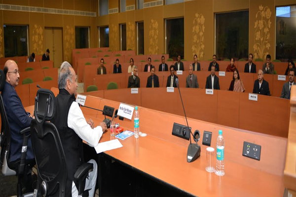cm meeting for government priorities - Jaipur News in Hindi