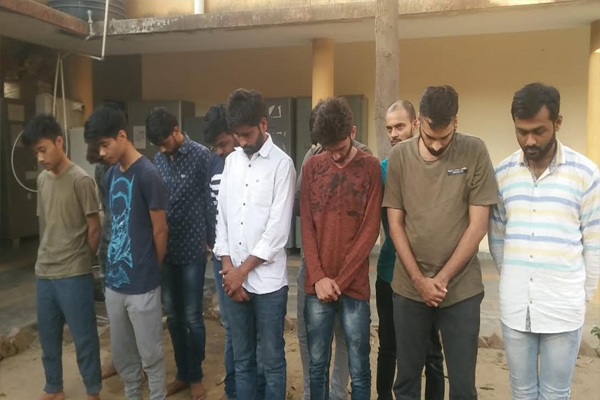 Four call centers owner and  arrested 33 persons - Jaipur News in Hindi