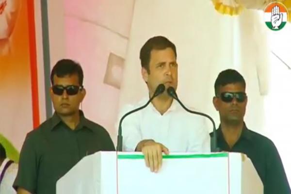 राहुल गांधी ने की घोषणा, 5 करोड़ महिलाओं के खाते में 72 हजार रुपए डालेंगे