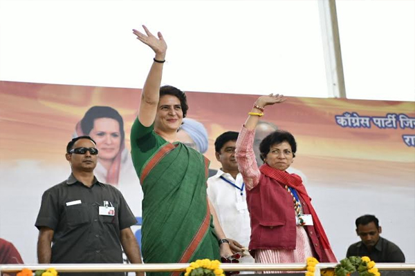 Priyanka Gandhi attack on  PM Modi,  he is arrogant like Duryodhana - Ambala News in Hindi