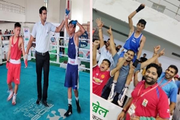 सब जूनियर मुक्केबाजी : चंडीगढ़ के आर्यन और पंजाब के निखिल ने जीता सोना
