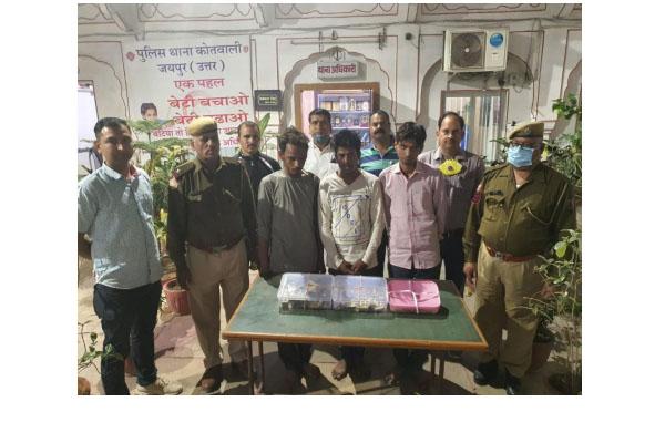 3 idol thieves arrested in Jaipur, - Jaipur News in Hindi