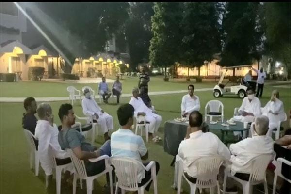 Pilot releases video of his MLAs strategising in Manesar - Jaipur News in Hindi