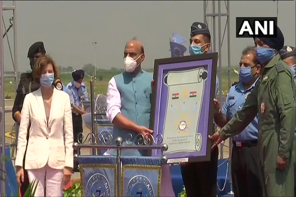 5 Rafale aircraft inducted into Indian Air Force, see photos - Ambala News in Hindi