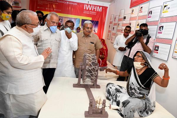 Independence Amrit Festival programs inaugurated at Jawahar Kala Kendra - Jaipur News in Hindi