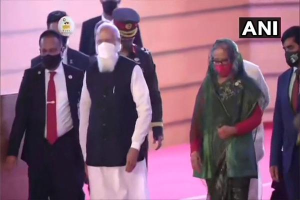 See photos of PM Narendra Modi Bangladesh tour here - Delhi News in Hindi