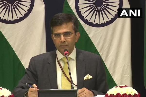 India slams China over Jammu and Kashmir statement - Delhi News in Hindi