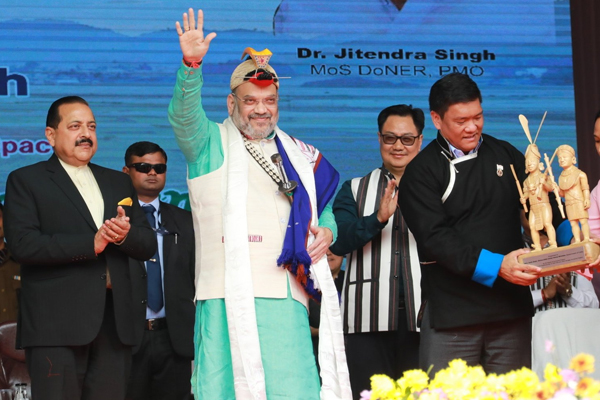 China objects to Home Minister Amit Shah visit to Arunachal Pradesh - World News in Hindi