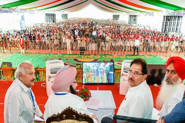 तरनतारन के लिए 555 करोड़ रुपए की विकास परियोजनाओं की घोषणा