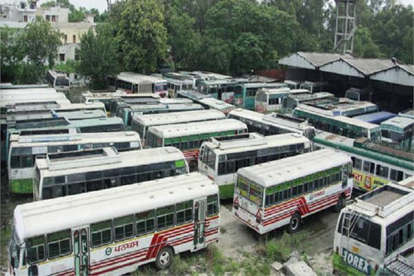 3000 employees of state-run buses go on strike in Punjab - Punjab-Chandigarh News in Hindi