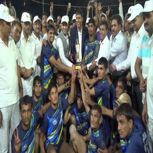 bhanipura team won police kabaddi league in churu - Churu News in Hindi