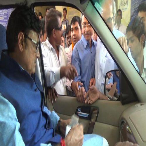 Minister Rathore accused congress for small mentality in churu - Churu News in Hindi