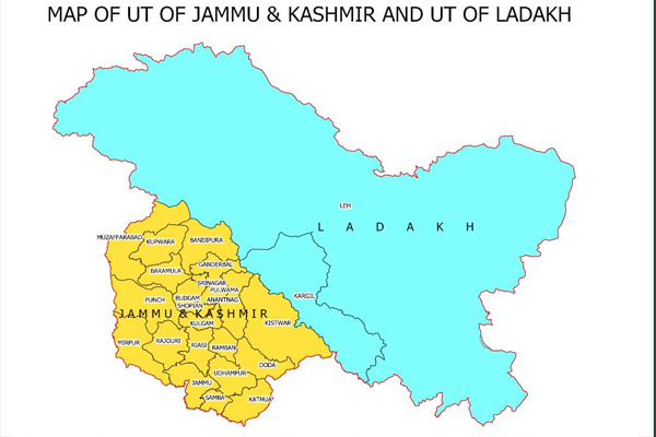 Pakistan rejects fresh jammu kashmir and laddakh map issued by India - World News in Hindi