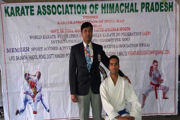 Santosh Kumar select senior national karate competition - Mandi News in Hindi