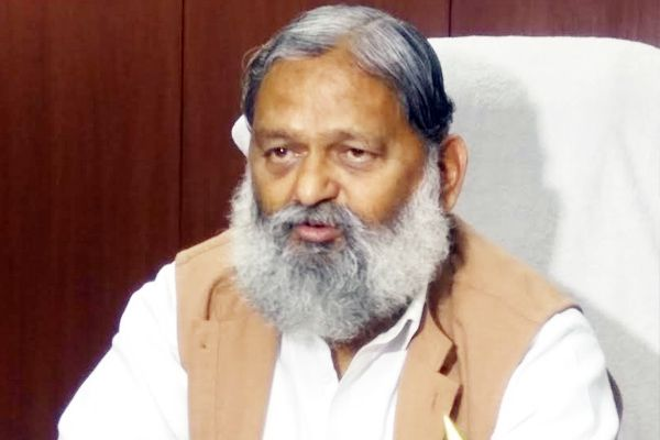 Sex ratio has increased 29 points to 871 per 900 in Haryana said Health Minister Anil Vij - Chandigarh News in Hindi