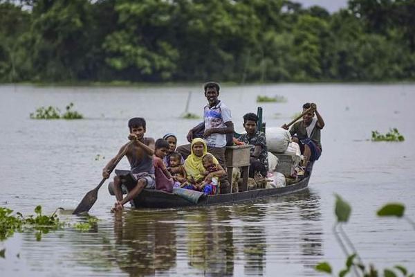 Bihar : flood claims 24 lives, CM Nitish Kumar reviews situation - Patna News in Hindi