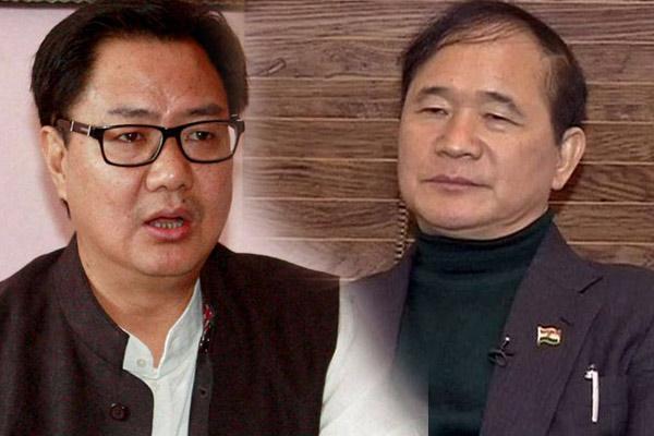 Lok Sabha Election 2019 : Kiren Rijiju will face challenge of former cm Nabam Tuki - Itanagar News in Hindi
