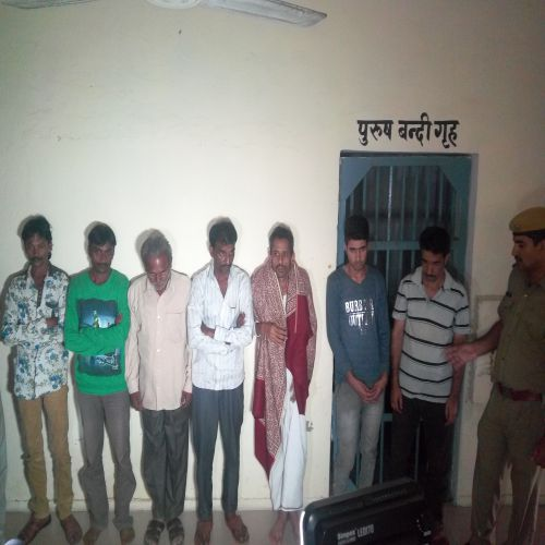 hashish seized, recovered car, seven arrested - Ajmer News in Hindi