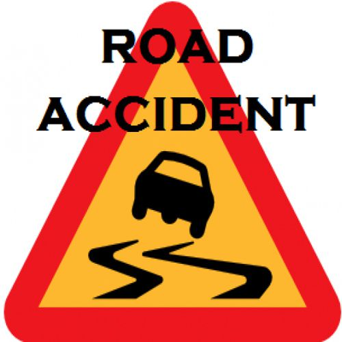 The bike rider death in car accident - Moga News in Hindi
