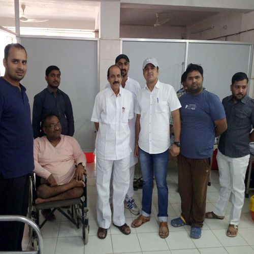 collected 36 units blood in blood donation camp - jhunjhunu News in Hindi