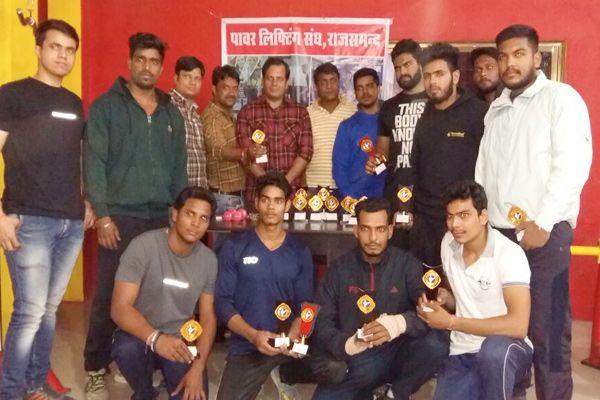 rajsamand news : Rajiv Yadav became Power man, the lalit Mali StrongMan - Rajsamand News in Hindi